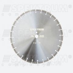 Круг алмазный отрезной Spektrum 350 мм, по бетону,