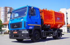 Мусоровоз с боковой загрузкой СБМ - 302/2 (13 м³)