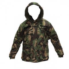 Куртка зимняя с флисовой подкладкой DPM