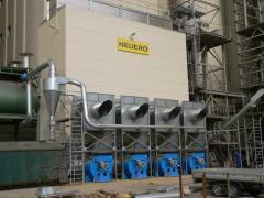 Grain drying plants based on shaft dryer NDT