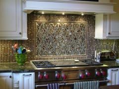 Мозаичная плитка для кухни, мозаика облицовочная с