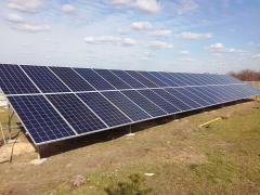 """Солнечные электростанции (""""зеленый"""