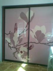 Покраска стекла, зеркала