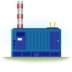 Блочно-модульная газовая котельная БМГК...