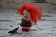 Оригинальный подарок кукла Меделин, OOAK