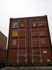 Контейнеры морские 20 футов, 40 футов