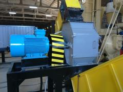 Hammer crushers, DRM-2 crusher (crushing of spill,