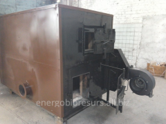 Heatgenerator of hot air, firm types of fuel