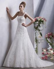 To buy a wedding dress, a wedding dress, a wedding