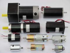 Маломощные электродвигатели постоянного тока