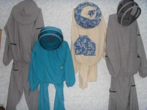 Clothes for the beekeeper Kostyuma (flax,