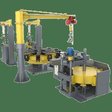 Механизированный комплекс для ремонта поглощающих