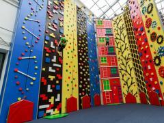 Sport climbing walls