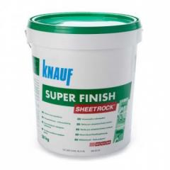 Шпаклівка пастоподібна  SuperFinish 25кг. KNAUF