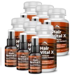 Hair Revital X (Хеир Ревитал Икс) - комплекс для роста волос