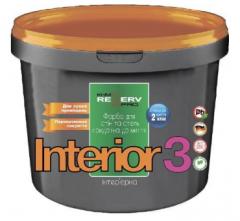 Фарба латексна для стель та стін INTERIOR 3