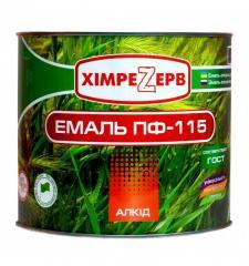Емаль ПФ-115 ГОСТ Хімрезерв (50кг)