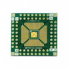 Плата QFP64-32 0.8/0.5mm макетная