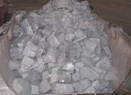 Crushed stone from slags from production of