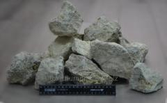 Limestone for fluxing, fr. 80-120 mm.
