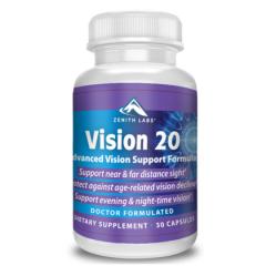 Капсулы для улучшения зрения Vision 20 (Вижн 20)