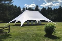 Two-masted tent Star Veranzo 14,00 m. X 7.30 m.