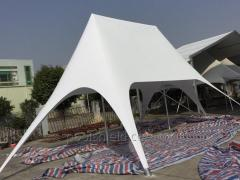Two-masted tent Star Veranzo 12,40 m. X 7.30 m.