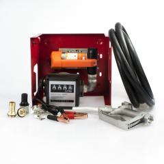 Мини АЗС для дизельного топлива на 24В 80л/мин