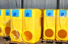 Tanks for carbamide-ammonia mixtures