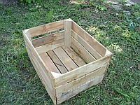 "We realize wooden boxes like ""the Polish"