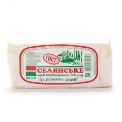 Масло сливочное натуральное 73% 250г тм ПАОЛО ГОСТ