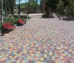Тротуарная плитка «Старый город» 4 см