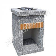 Стол-плита «Манчестер» №2 Мрамор серый