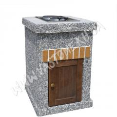 Стол-плита «Манчестер» №2 с дверцей Мрамор...
