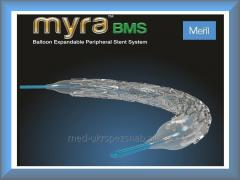 Стент периферический MYRA BMS (Meril)