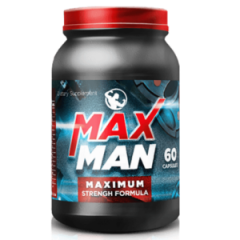 MaxMan (MaksMen) - capsules for building muscle