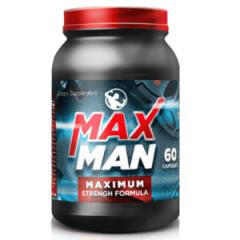 Капсулы для наращивания мышечной массы MaxMan (МаксМэн)