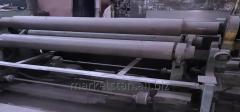 Вальцы 6х3500 мм, машина листогибочная трехвалковая ИБ 2235.6