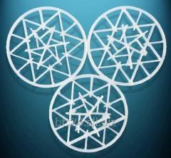 Кольца Сноуфлейк (Snowflake Ring), PP, 90 мм