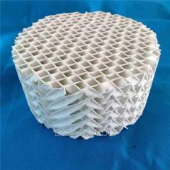 Керамическая гофрированная насадка, 100 мм, Ceramic Corrugate Packing