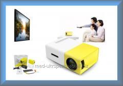 Портативный LED проектор YG-300 для дома