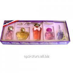 Набор миниатюр парфюмированной воды CHARRIER