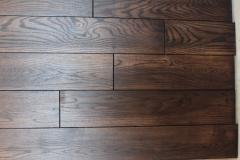 Board parquet of an oak