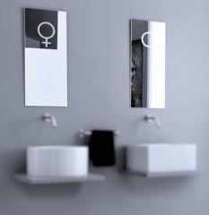 Зеркала для ванной комнаты Vitruvit Lui e Lei