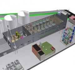 Строительство биоэтанольного завода мощностью 6000 дал