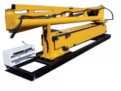 Cranes with hydraulic manipulators