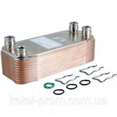 Теплообменник вторичный (пластинчатый) газового