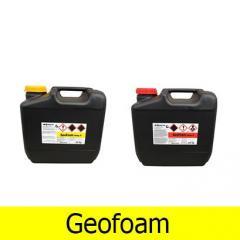 Органоминеральная двухкомпонентная вспенивающаяся смола Геофом, Geofoam