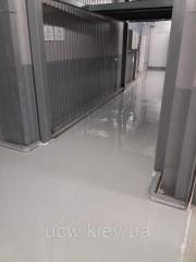 Самовирівнююче полімермінеральне покриття підлоги Цемезіт УР 35