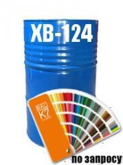 Фарба Емаль для металевих та дерев'яних поверхонь ХВ-124